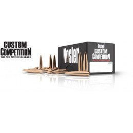 Nosler 140gr Custom Competition 100 (6.5mm .264 Cal)