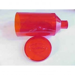 Lee Hopper and Lid - Red (Replacement Part)