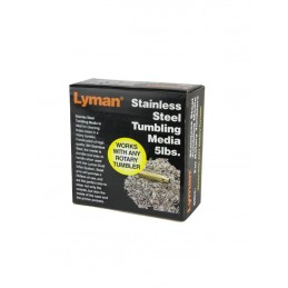 Lyman Stainless Steel Rotary Tumbling 5 lbs (2.25kg)