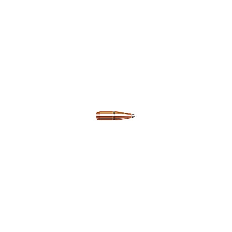 HORNADY 6mm .243 100 gr InterLock® BTSP