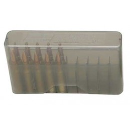 MTM  J20 Slip Top Ammo Box Series Medium Smoke