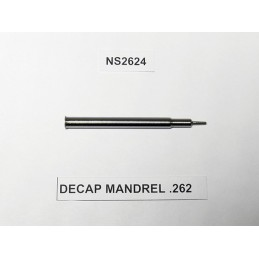 Lee DECAP MANDREL .262 (6.5 Cal)