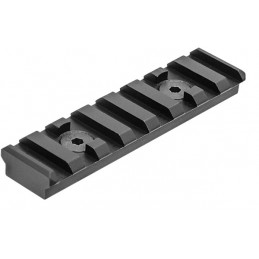 UTG PRO M-LOK 8-Slot Picatinny Rail Section, Black