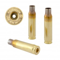 Peterson 308 Winchester (SRP) Brass Cartridge Cases (50)