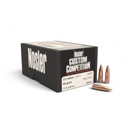 Nosler 69gr Custom Competition 22 Cal
