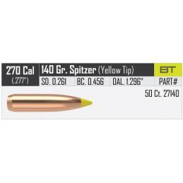 Nosler 140gr Ballistic Tip Hunting Bullets 270