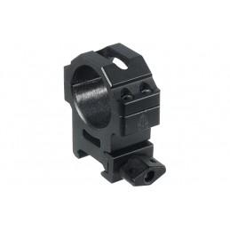 UTG MAX STRENGTH 30mm Medium Profile Picatinny Rings, 22mm Width