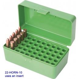 MTM AMMO BOX 50 RD 22 Hornet