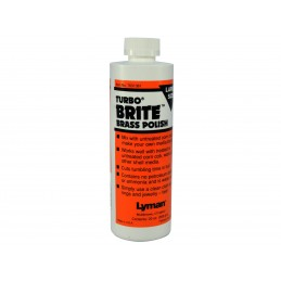Lyman Turbo Brite Brass Case Polish - 5 oz