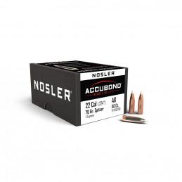Nosler 70gr AccuBond SP Bullet (50ct) 22 Cal