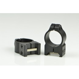 Warne 202M 1 inch Fixed High Matte Rings